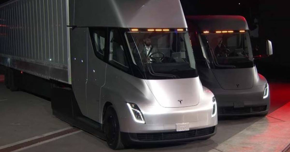 Tesla Unveils Electric Truck And World S Fastest