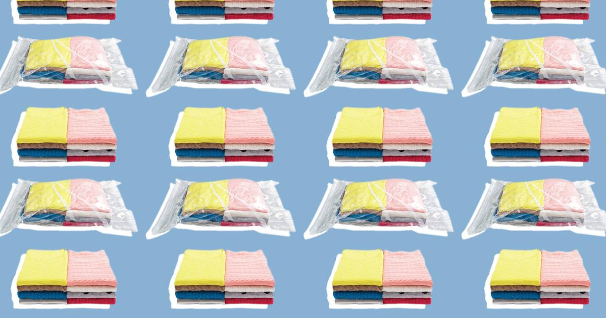 Why You Should Use Ziploc Space Bags To Save Closet Space