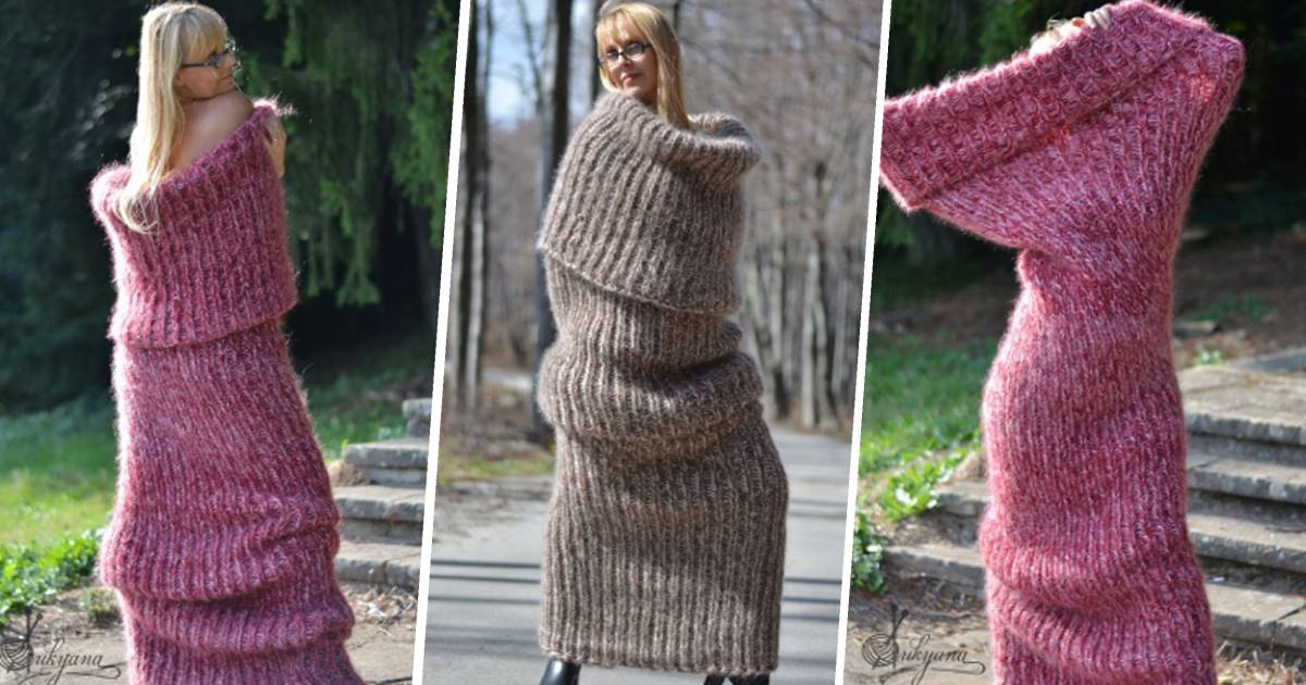 Dukyana S Floor Length Tube Sock Scarf Goes Viral