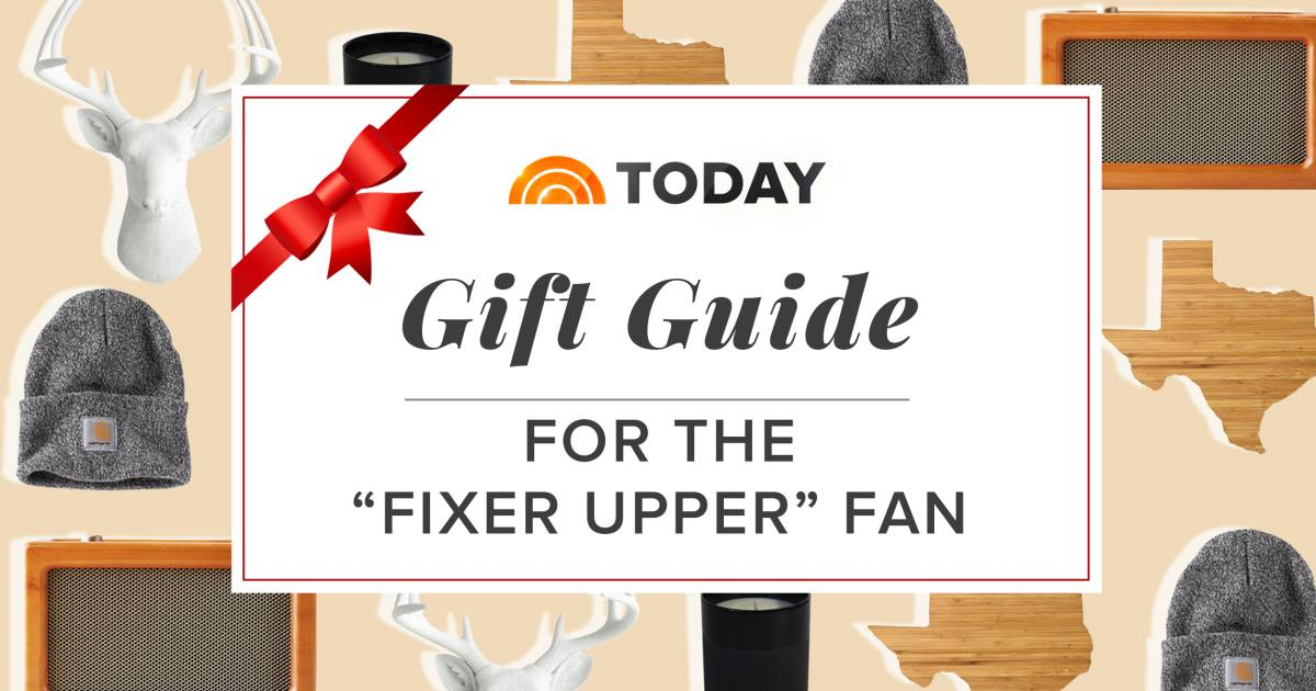 26 gift ideas for the ultimate fixer upper fan on your list for Fixer upper christmas special 2017