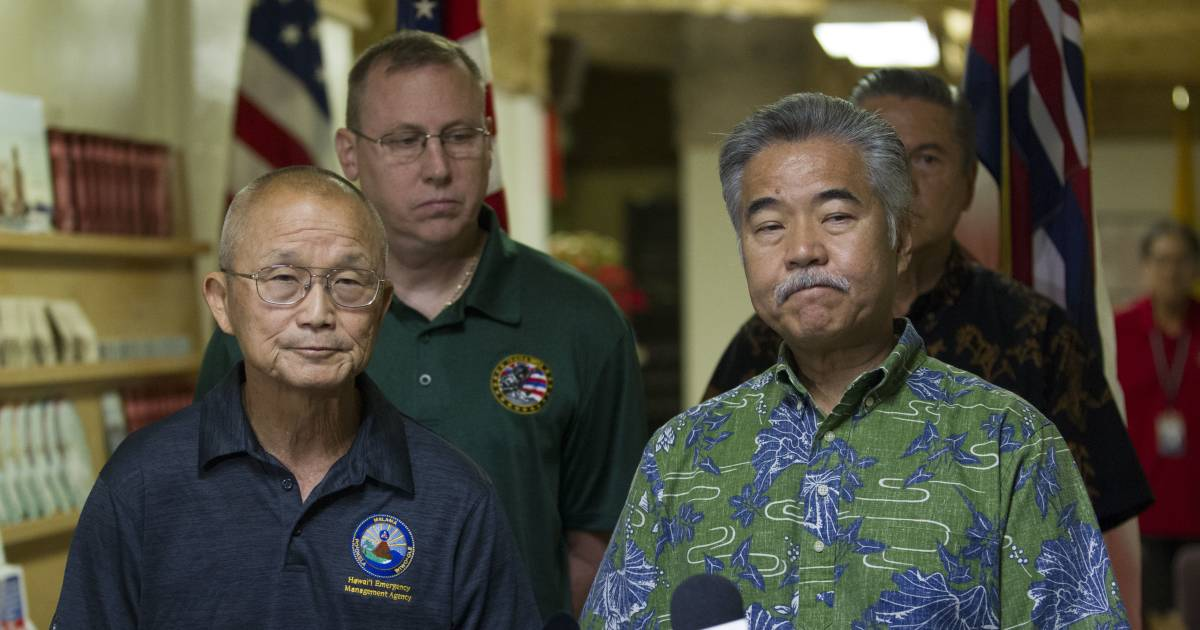 Hawaii missile alert test goes wrong, terrifies the state