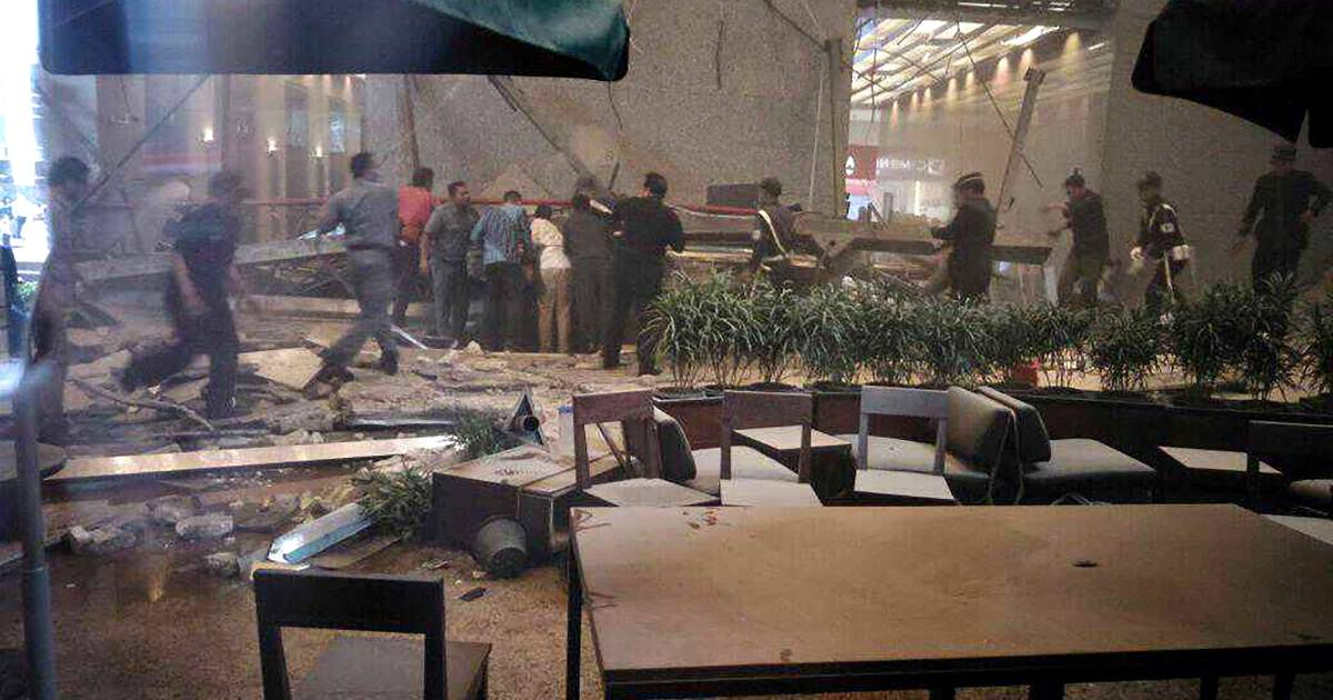 28 Injured As Floor Collapses At Indonesia Stock Exchange