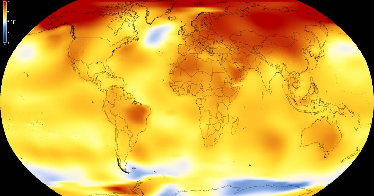 NASA says 2017 was one of the hottest years on record
