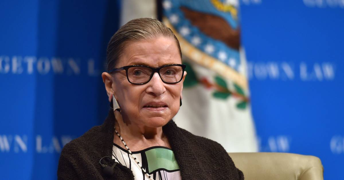 Justice Ruth Bader Ginsburg hospitalized with three fractured ribs