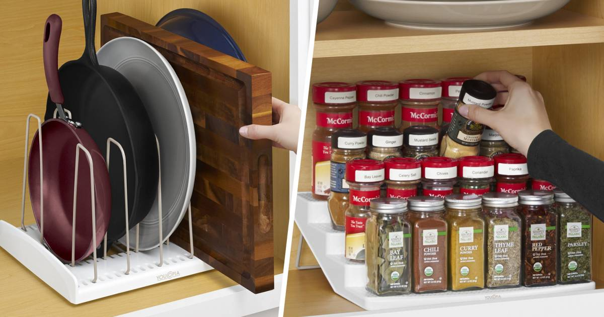 kitchen organizing products the best kitchen organizing products are youcopia products 2384
