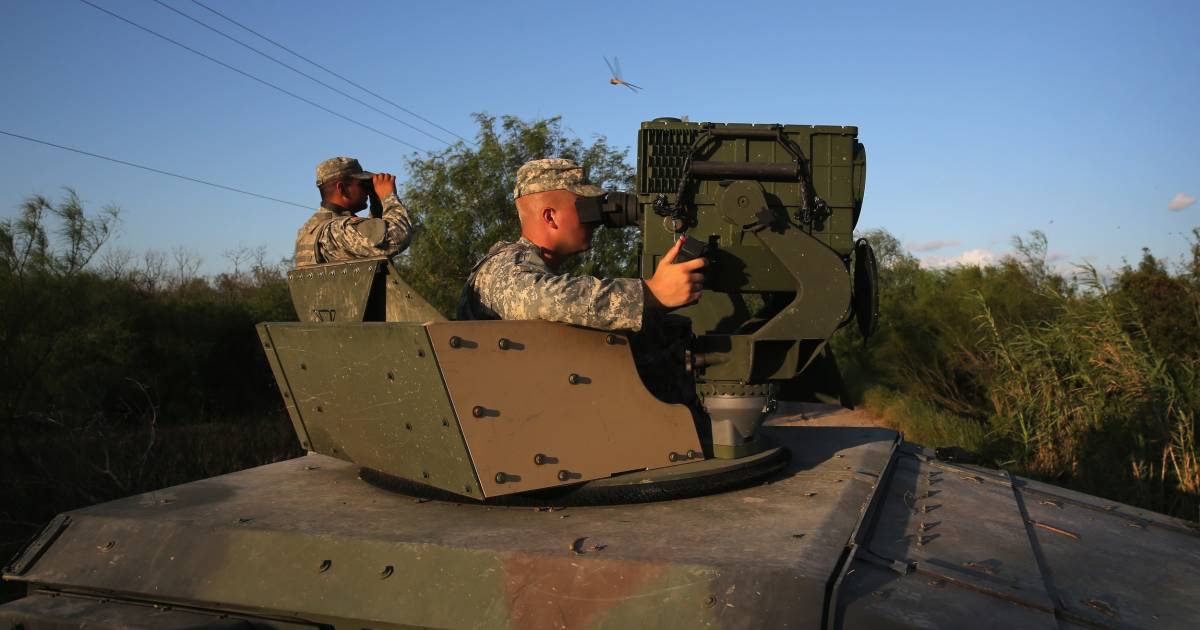 Trump sending National Guard  troops to border, but they won't touch immigrants