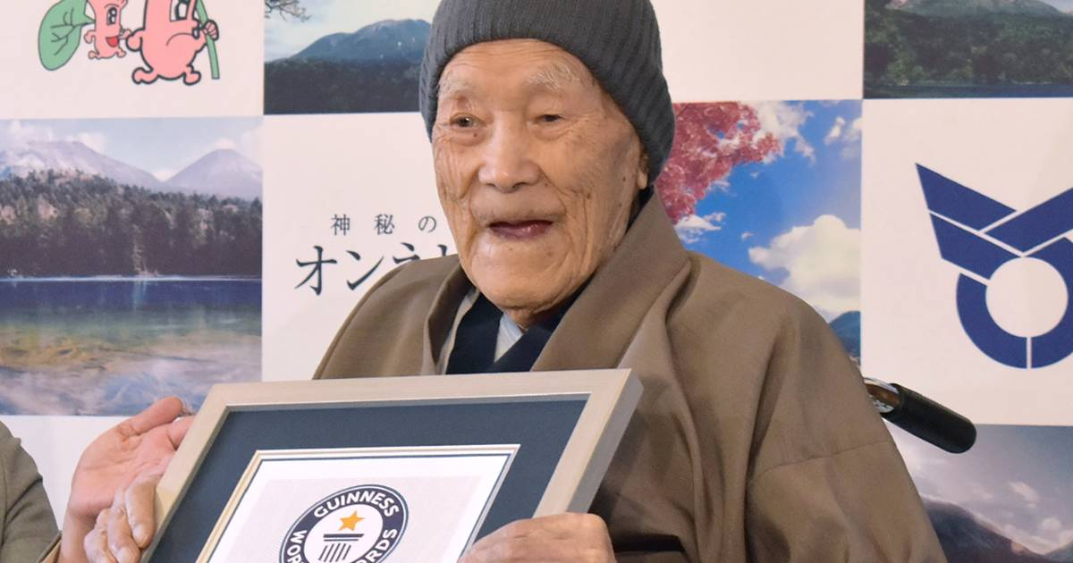 World's oldest living man, 112, credits longevity to desserts - Today