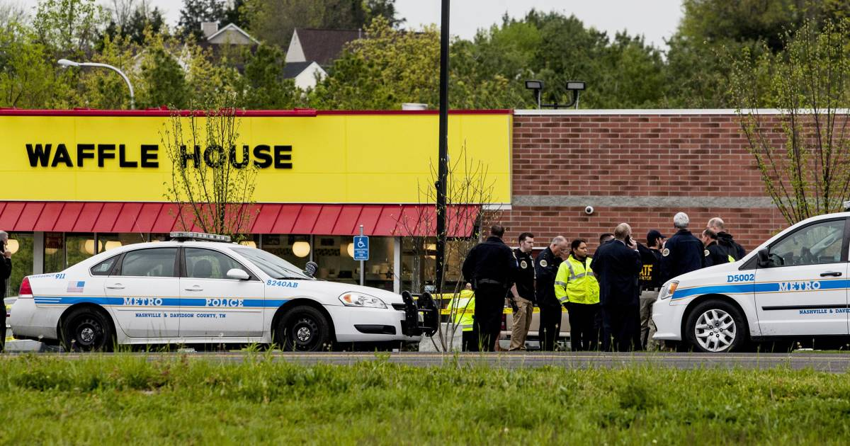 Waffle House shooting suspect had guns confiscated