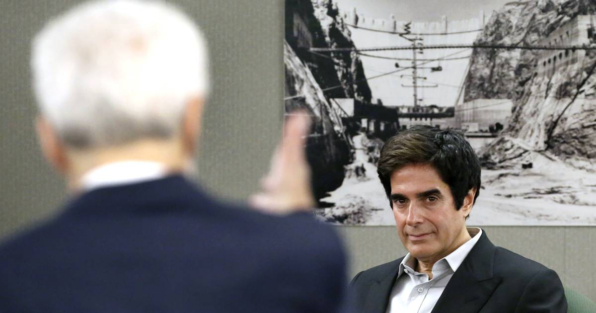 David copperfield testifies that he knew of no injuries in illusion david copperfield testifies that he knew of no injuries in illusion in 20 years m4hsunfo