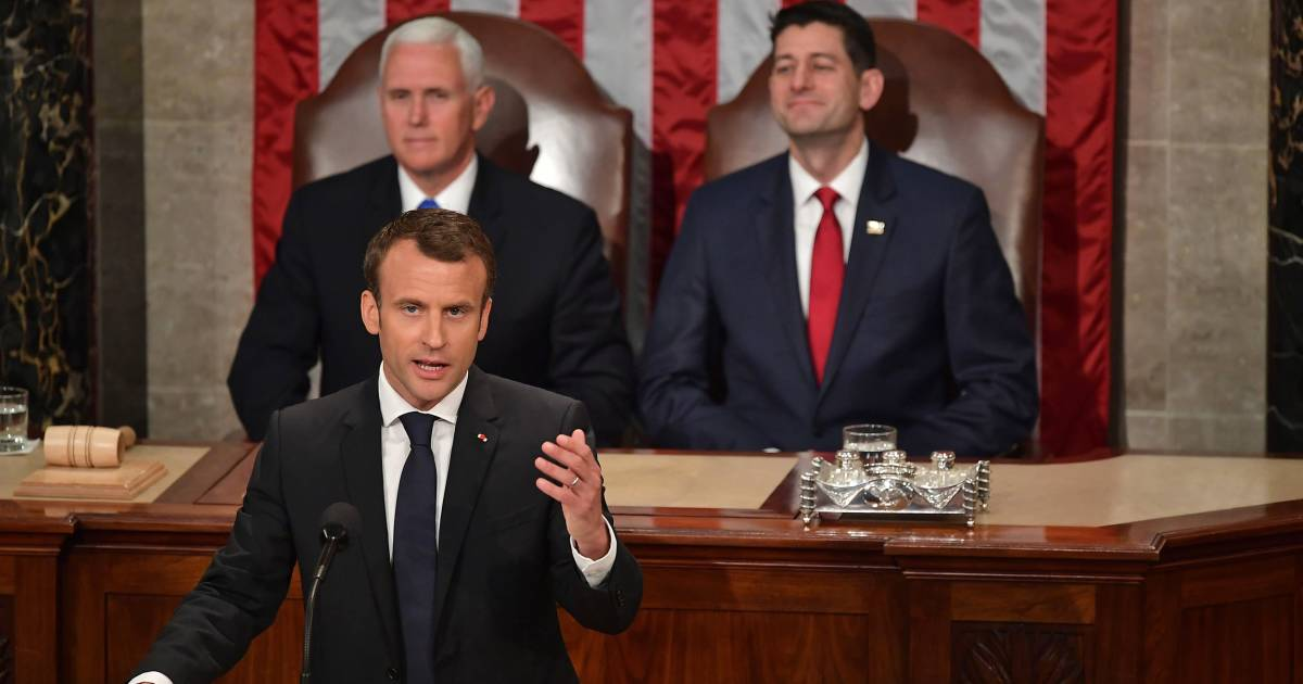 Macron breaks with Trump on climate change: 'There's no Planet B'