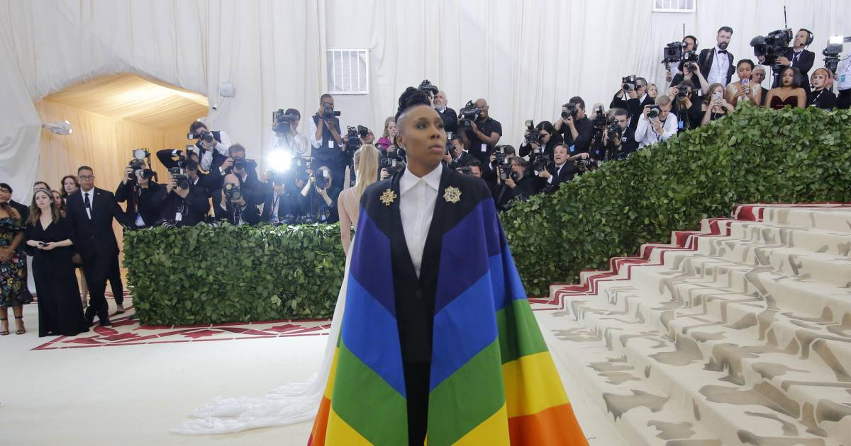 Lena Waithe Makes Powerful Statement At Met Gala With