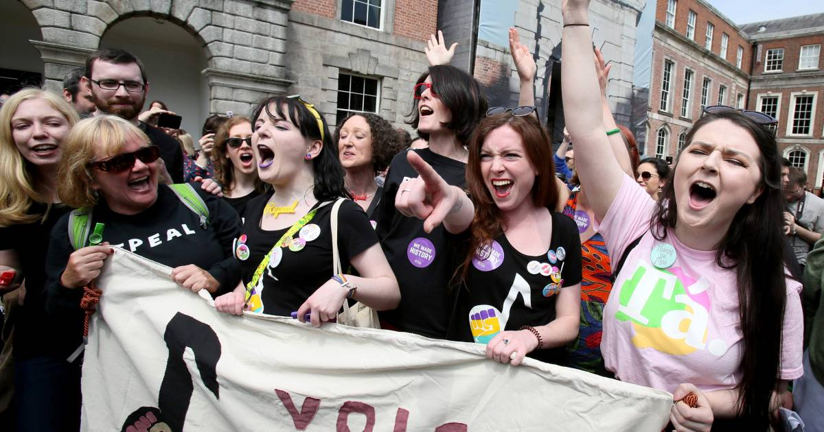 Ireland repeals abortion ban as 'quiet revolution ...