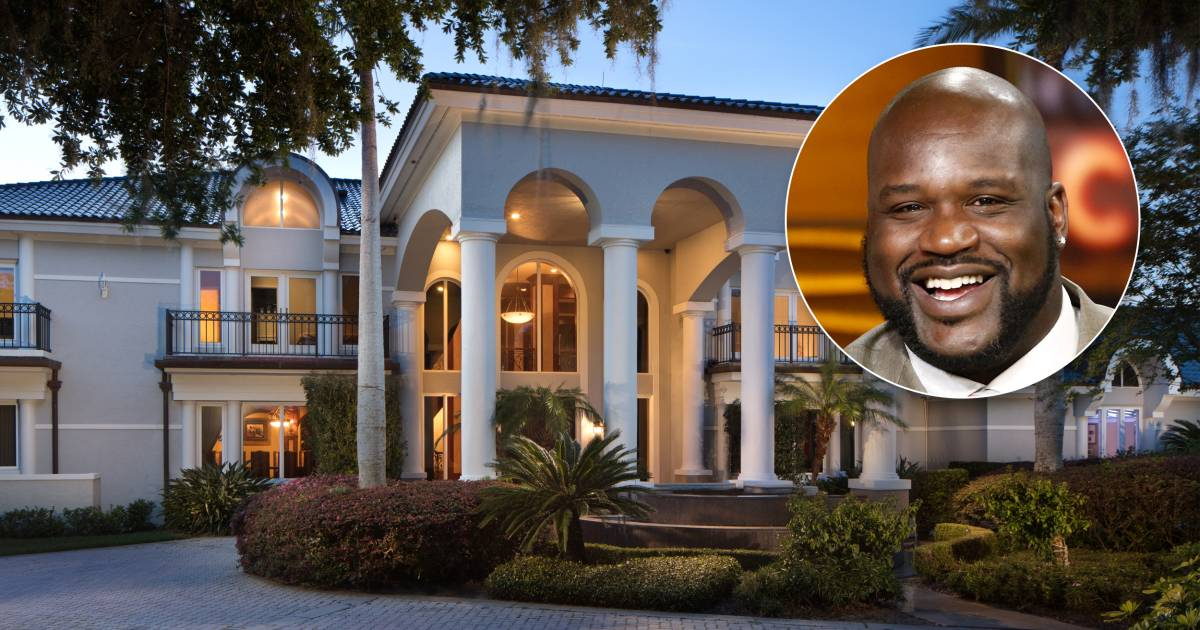Shaquille O Neal S Florida Megamansion Is For Sale