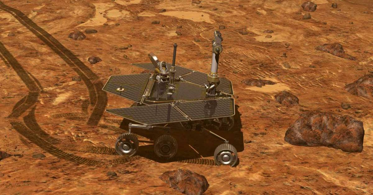 As Mars dust storm rages, NASA's Opportunity rover falls silent
