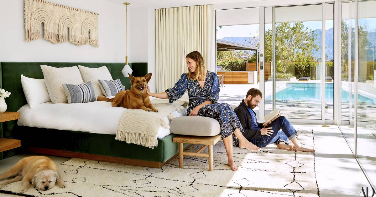 interiors decorations fair simple home design | Mandy Moore's Pasadena home is filled with mid-century ...