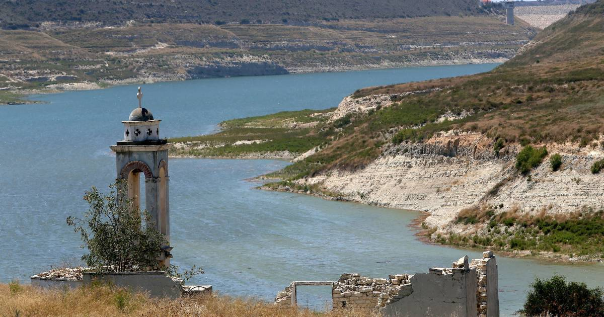 An island nation in the Mediterranean Sea is running dry