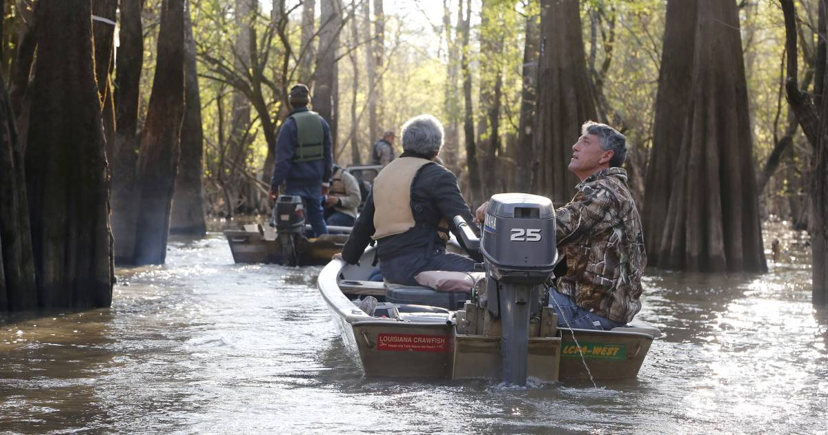 Louisiana fisherman wait for help from Trump administration
