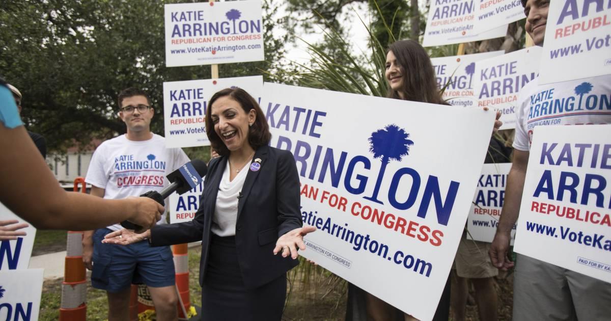 Katie Arrington, congressional hopeful who defeated Mark Sanford, seriously injured in car crash