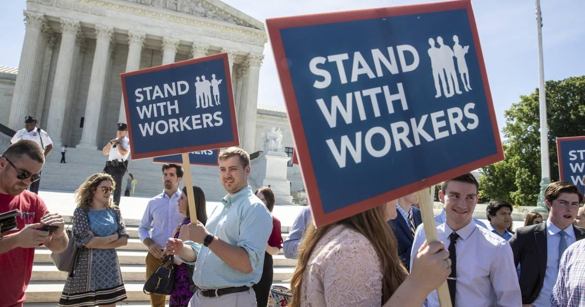 Supreme Court ruling deals major blow to public worker unions