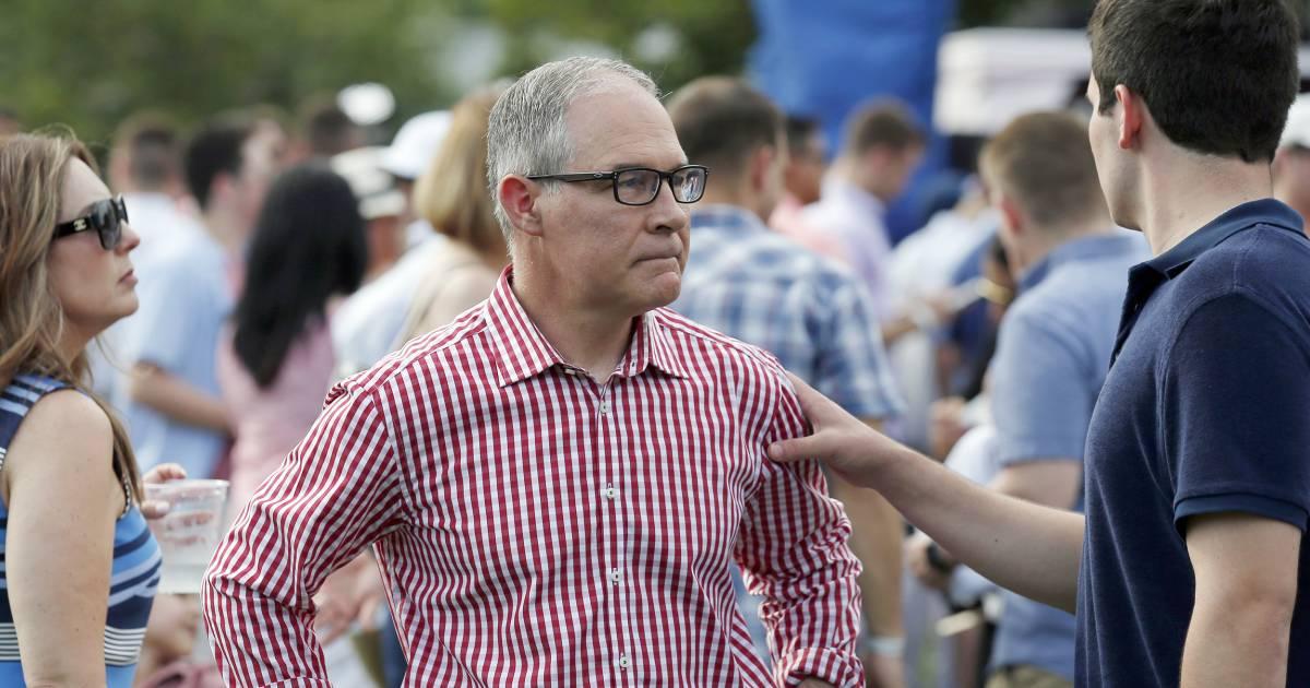 Embattled EPA chief Scott Pruitt resigns amid ethics scandals