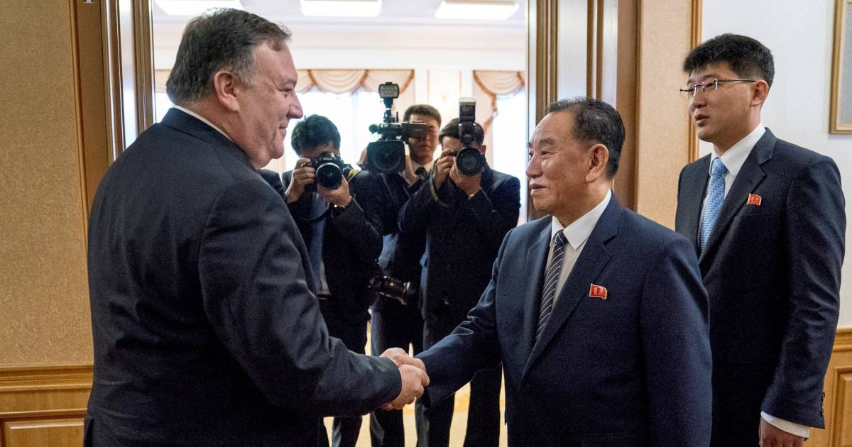 Pompeo, North Korean official express need to 'clarify' their positions