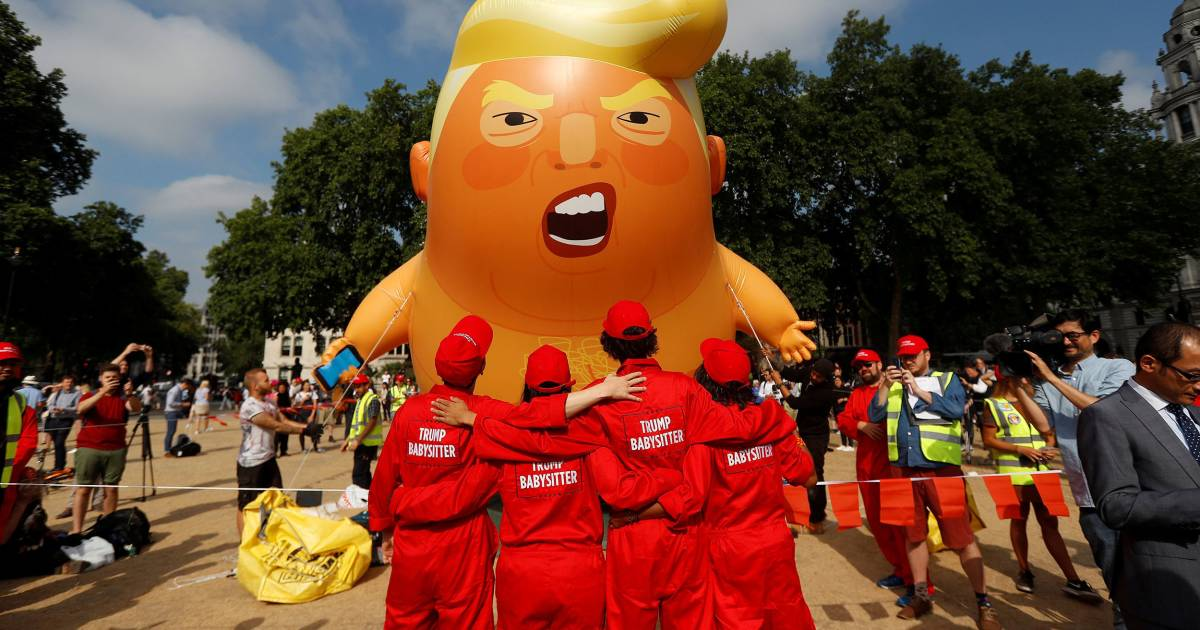 'Trump Baby' protest blimp is coming to America