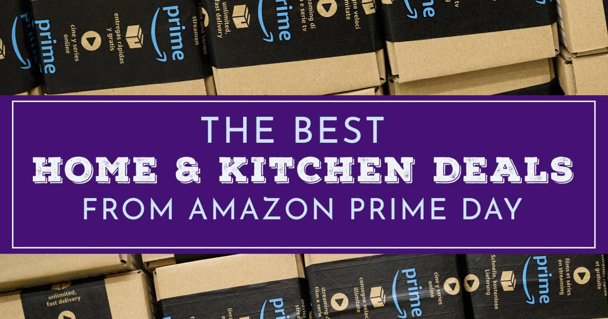 amazon prime day 2018 the best home and kitchen prime day deals. Black Bedroom Furniture Sets. Home Design Ideas