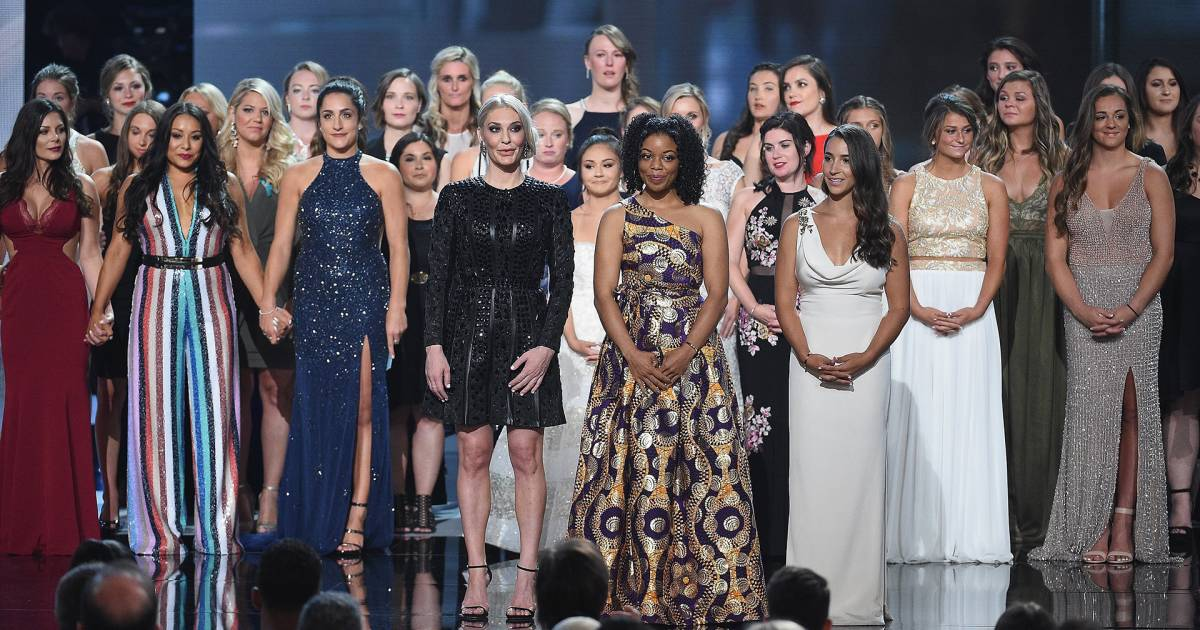 Aly Raisman and Larry Nassar survivors honored for courage ...