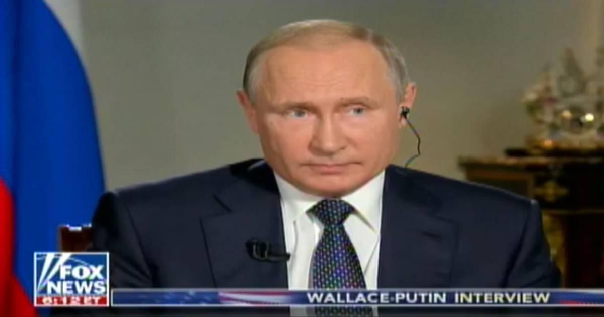 Putin says Russia has no dirt on Trump