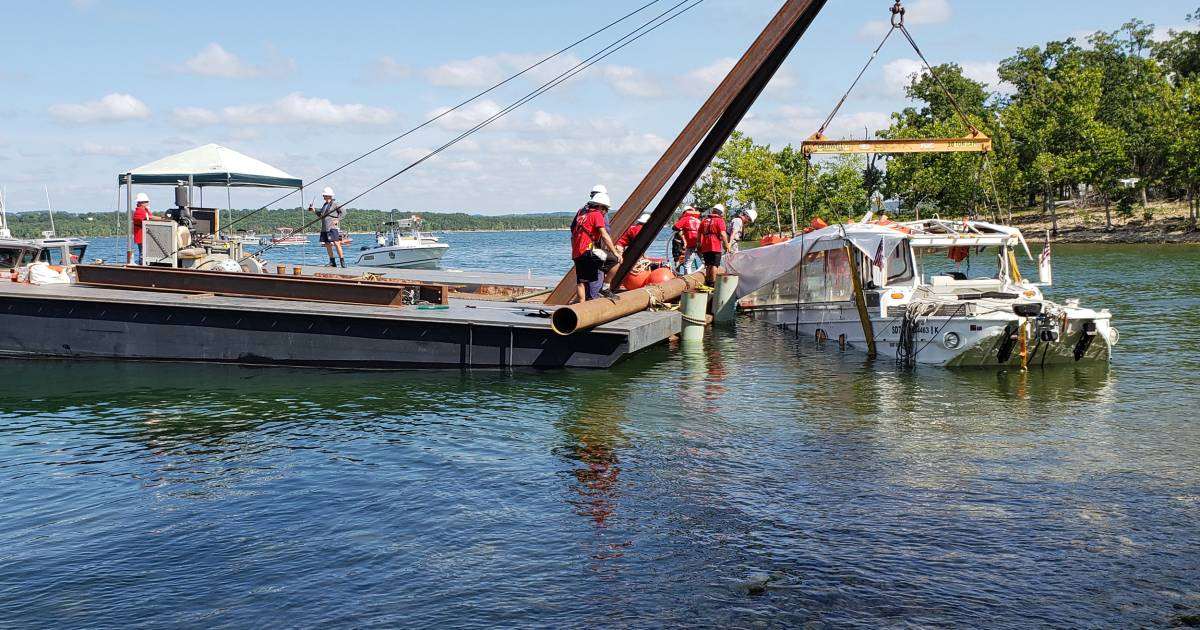 Duck boat captain indicted in connection with deadly sinking in Missouri