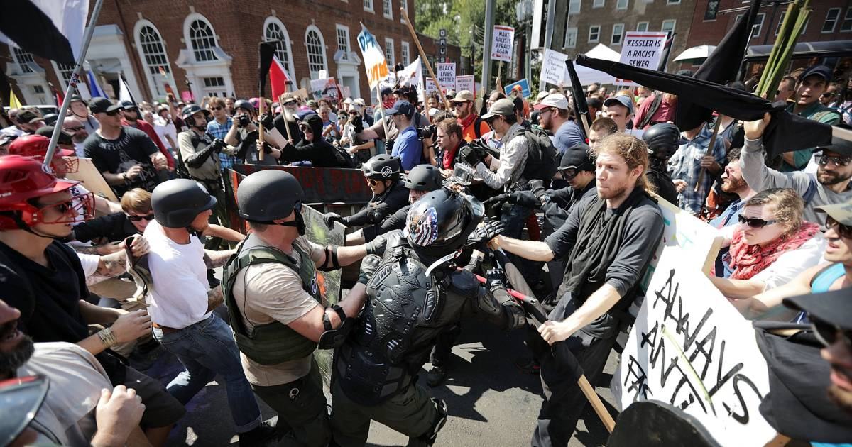 FBI arrest members of white nationalist group on charges of intent to incite violence