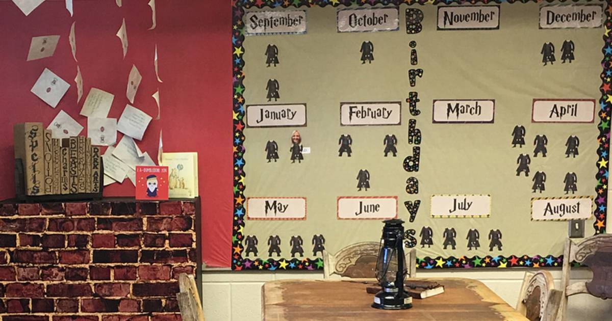 A 3rd grade teacher transformed her classroom into Hogwarts — and it's amazing