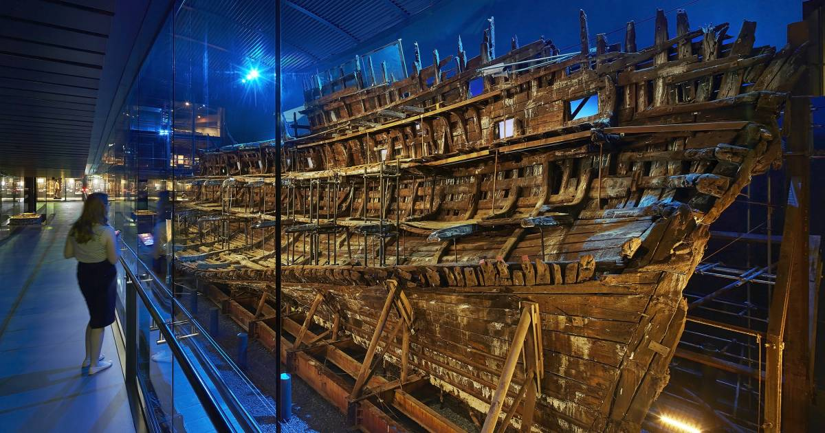 How tiny magnets could save a historic warship that once sailed for King Henry VIII