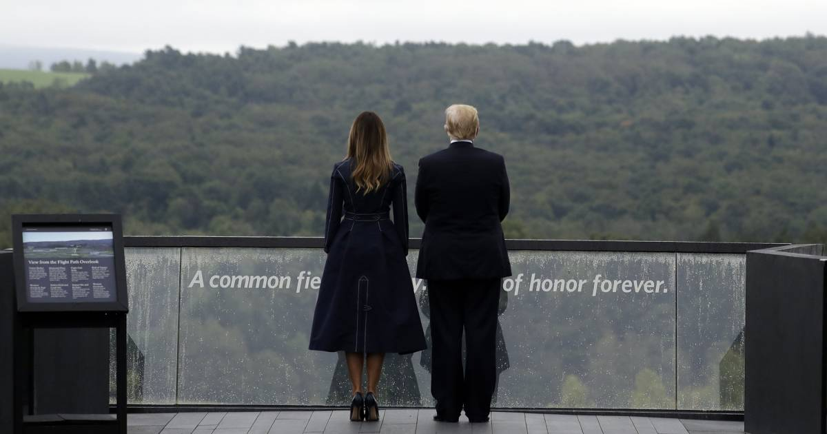 Trump says he found border wall inspiration at Fight 93 memorial