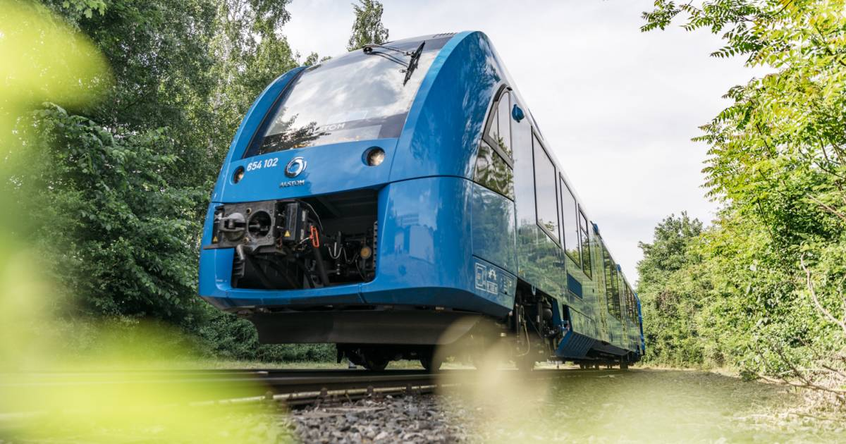 Germany's new hydrogen-powered trains point the way to sustainable rail travel