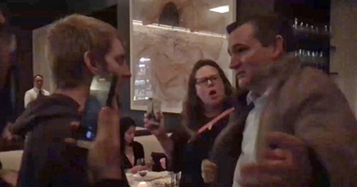 Ted Cruz, wife chased out of D.C. restaurant by anti-Kavanaugh protesters