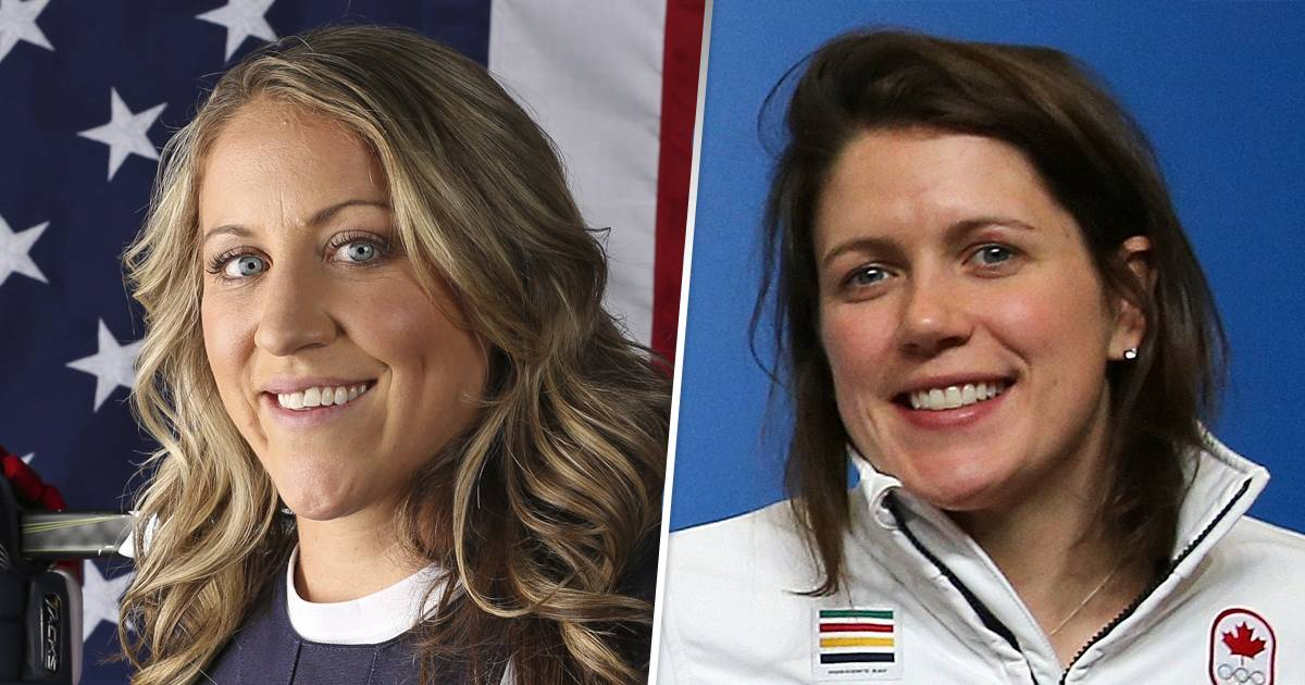 US Women's Hockey team captain marries former Canadian rival