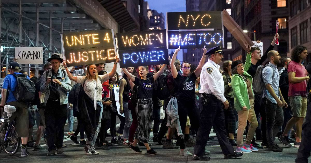 New data on #MeToo's first year shows 'undeniable' impact