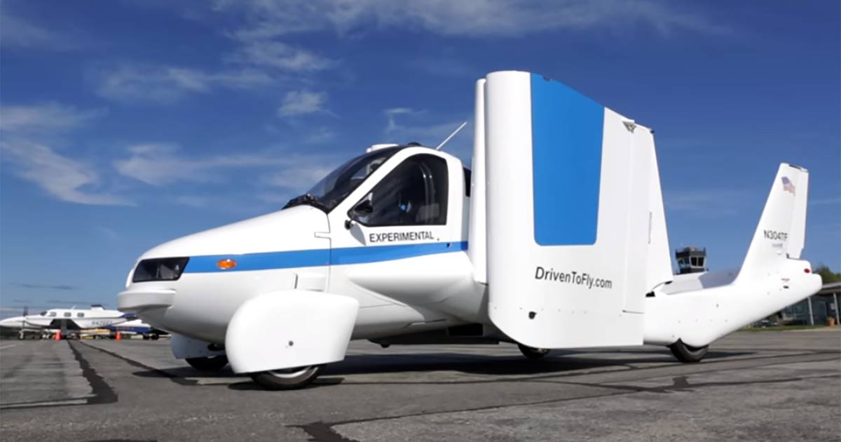 The Terrafugia Transition could end to the long wait for flying cars