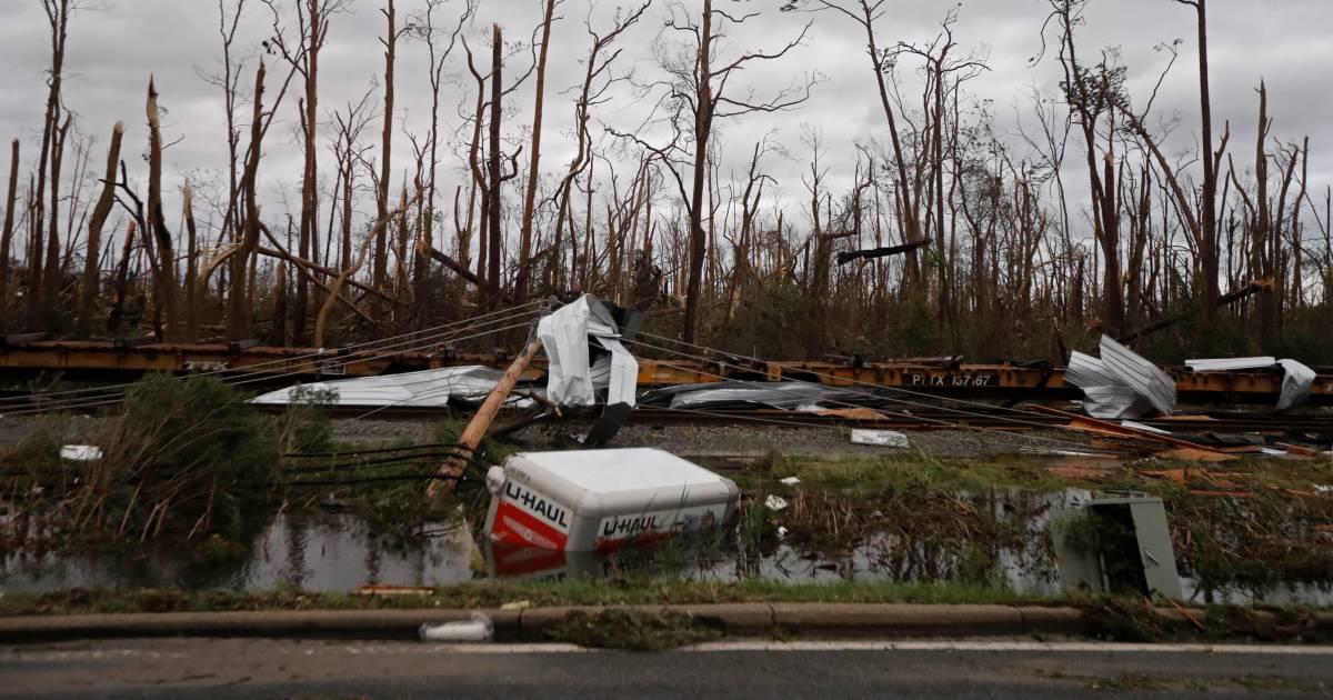 Photos: Hurricane Michael pounds Florida Panhandle