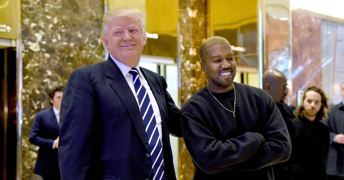 Trump calls Kanye a 'very different kind of guy' ahead of W.H. meeting