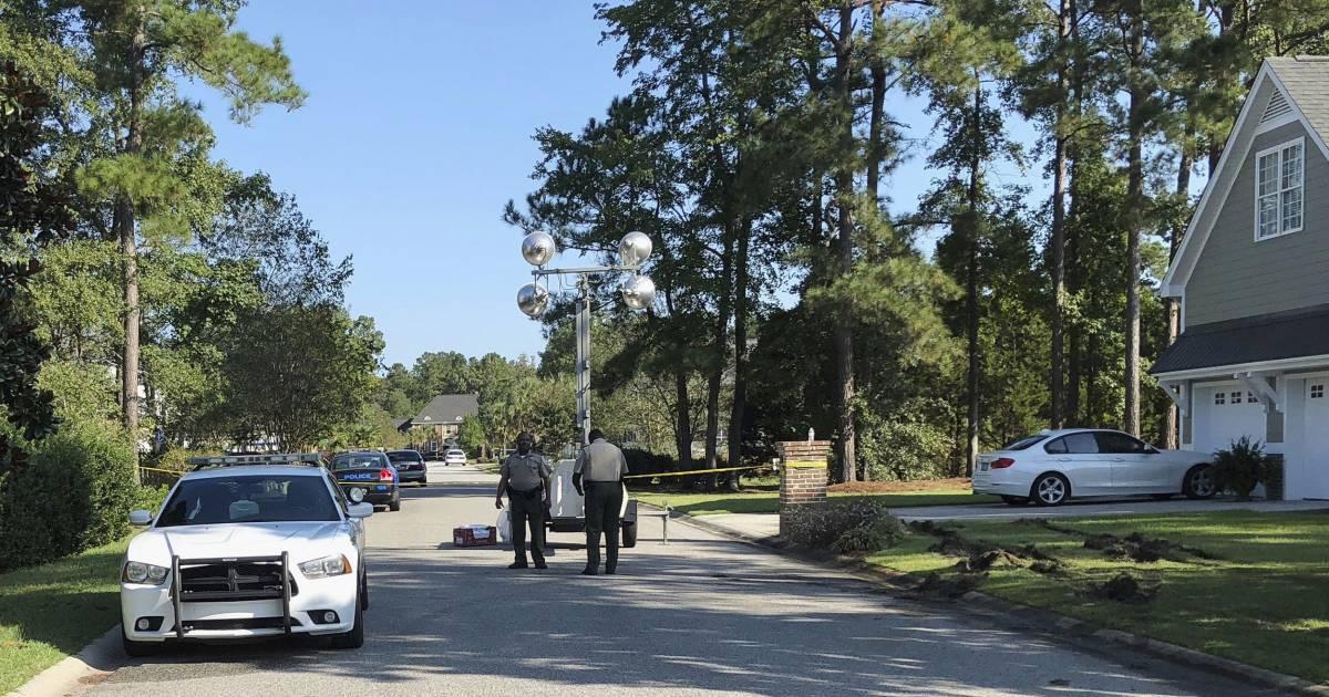 South Carolina police shooting suspect Frederick Hopkins had 129 guns