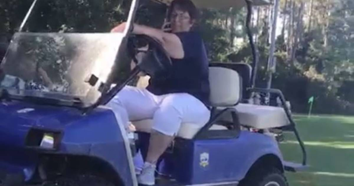 White woman dubbed 'Golfcart Gail' calls police on black father at soccer game
