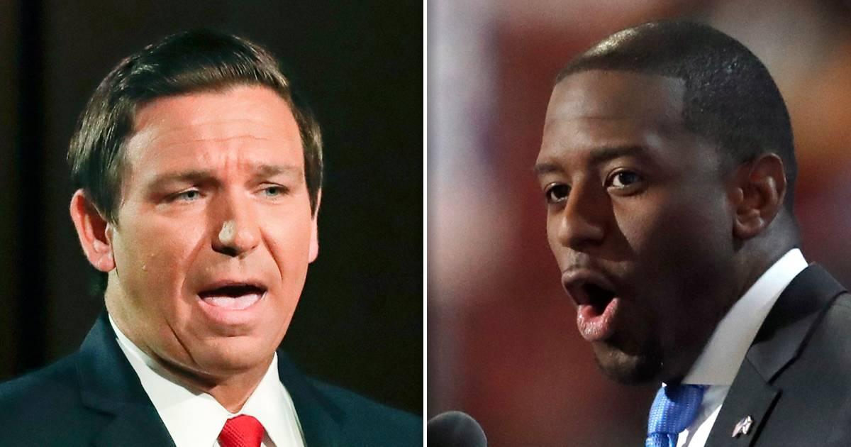 Gillum statement stokes intrigue as Florida vote margin tightens