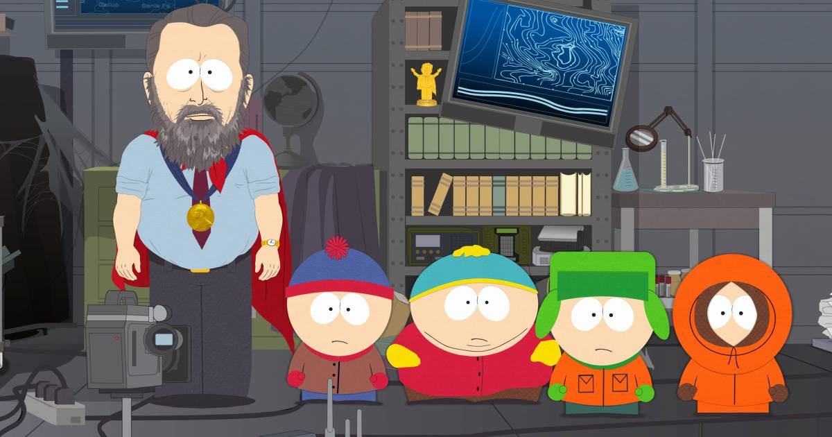 South Park issues rare apology for 'ManBearPig'