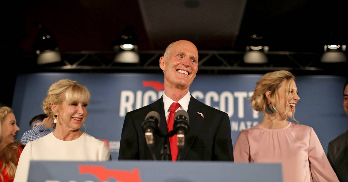 Florida Gov. sues counties and accuses 'unethical liberals' of trying to steal election