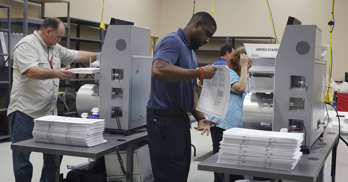 Trump says Florida elections 'massively infected': 'Many ballots are missing or forged'