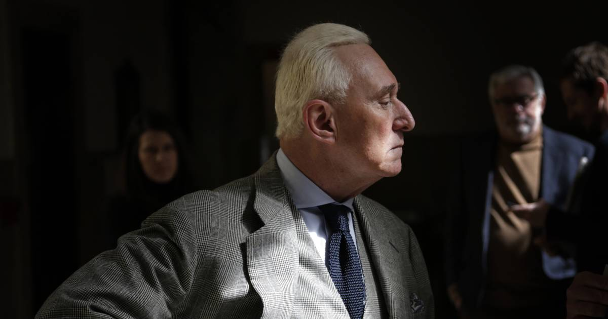 Current Status: Text messages show Roger Stone and friend discussing WikiLeaks plans