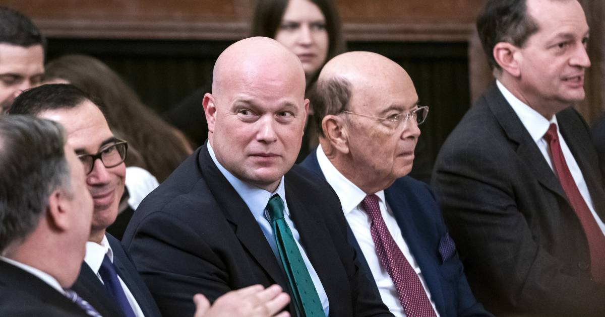 Matt Whitaker's appointment as acting attorney general challenged in Supreme Court