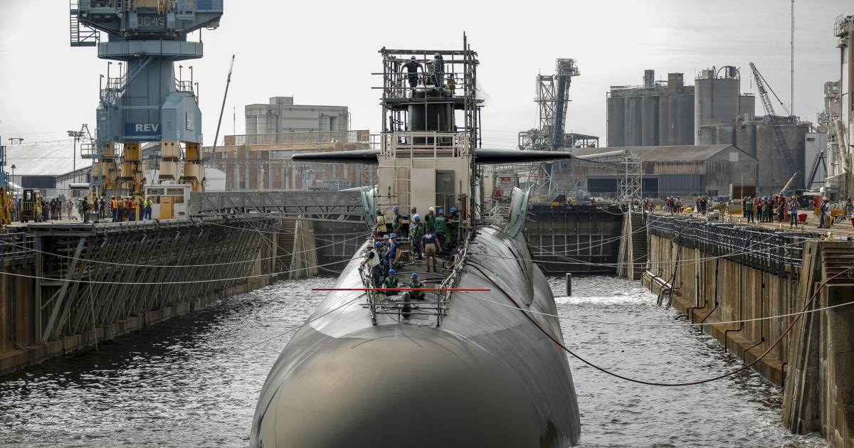 Rising seas threaten Norfolk Naval Shipyard, raising fears of 'catastrophic damage'
